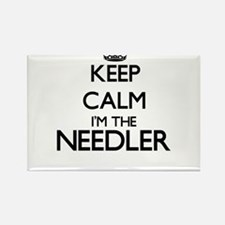 Keep calm I'm the Needler Magnets