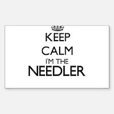 Keep calm I'm the Needler Decal