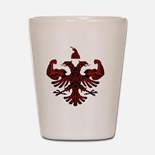 Albanian Power Shot Glass