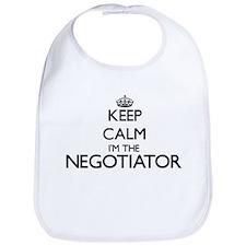 Keep calm I'm the Negotiator Bib