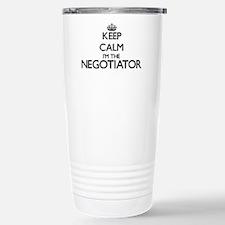 Keep calm I'm the Negot Travel Mug