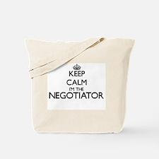 Keep calm I'm the Negotiator Tote Bag