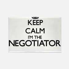 Keep calm I'm the Negotiator Magnets