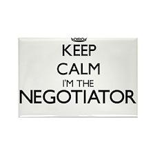 Keep calm I'm the Negotiator Magnets