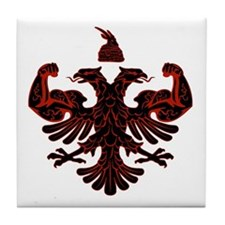 Albanian Power Tile Coaster