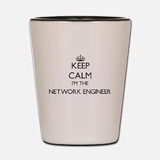 Keep calm I'm the Network Engineer Shot Glass