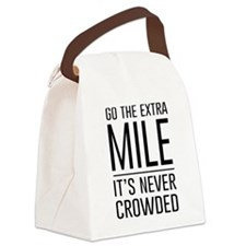 Go the Extra Mile…It's Never Crowded Canvas Lunch