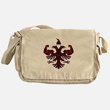 Albanian Power Messenger Bag