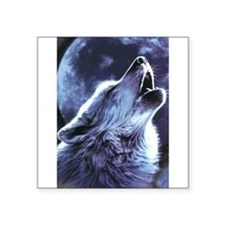 moon wolf Sticker