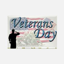 Cute Veterans day Rectangle Magnet (10 pack)