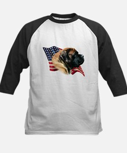 Mastiff(apr) Flag Kids Baseball Jersey
