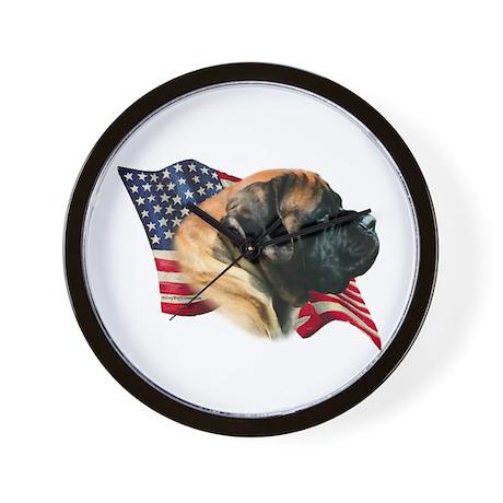 Mastiff(apr) Flag Wall Clock