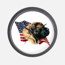 Mastiff(apr) Flag Wall Clock