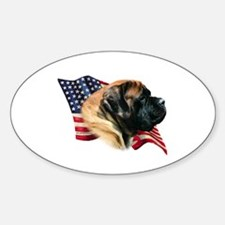 Mastiff(apr) Flag Oval Decal