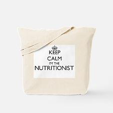 Keep calm I'm the Nutritionist Tote Bag
