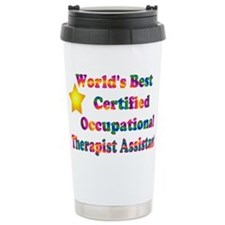 Cute Therapist Travel Mug