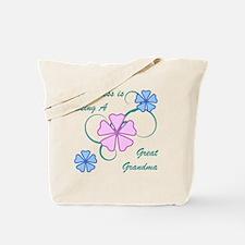 Happiness Great Grandma Tote Bag