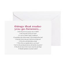 Hmmm Greeting Cards (Pk of 10)