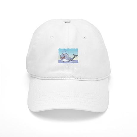 Happy Whale Cap