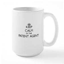Keep calm I'm the Patent Agent Mugs