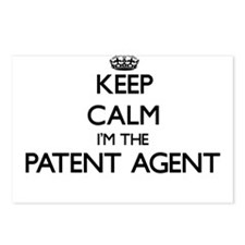 Keep calm I'm the Patent Postcards (Package of 8)