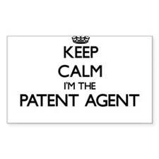 Keep calm I'm the Patent Agent Decal