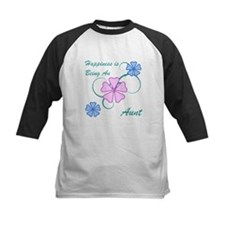 Happiness Aunt Baseball Jersey