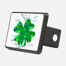 Shamrock Dancing Hitch Cover