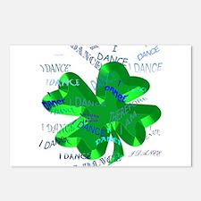 Shamrock Dancing Postcards (Package of 8)