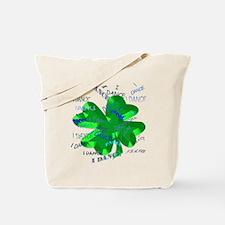Shamrock Dancing Tote Bag