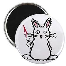 "Psycho Bunny 2.25"" Magnet (100 pack)"