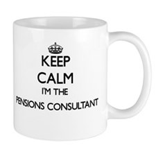 Keep calm I'm the Pensions Consultant Mugs