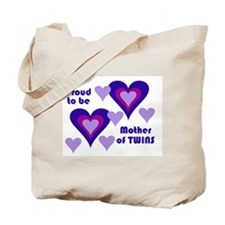 PROUD TO BE MOTHER OF TWINS Tote Bag