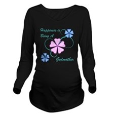 Happiness Godmother Long Sleeve Maternity T-Shirt