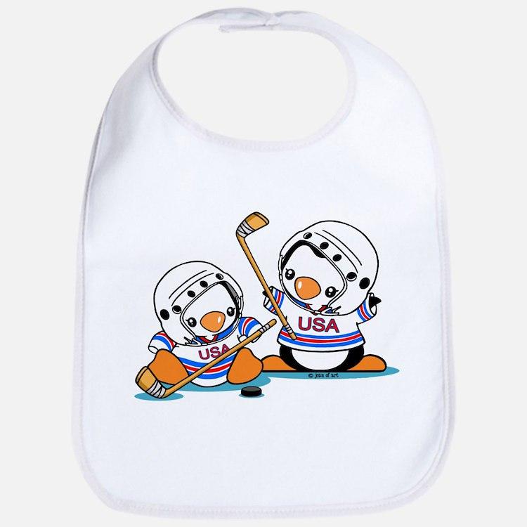 Ice Hockey Penguins (1) Bib