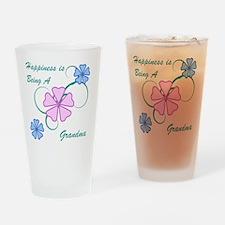 Happiness Grandma Drinking Glass