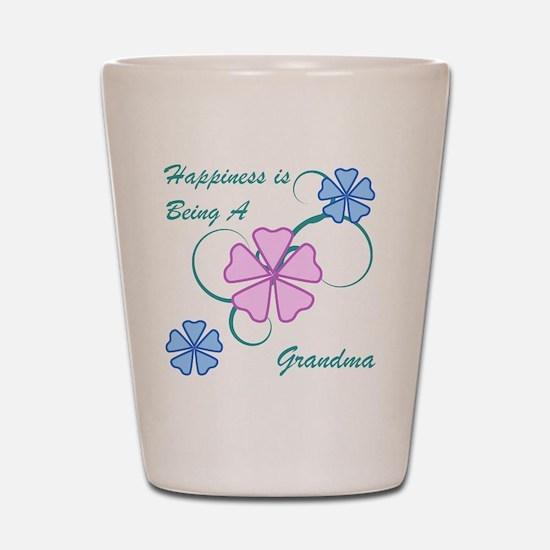 Happiness Grandma Shot Glass