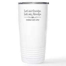 Cute Funny grammar Travel Mug
