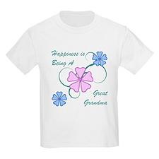 Happiness Great Grandma T-Shirt