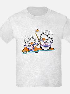 Ice Hockey Penguins (1) T-Shirt