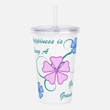 Happiness Great Grandm Acrylic Double-wall Tumbler