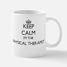 Keep calm I'm the Physical Therapist Mugs