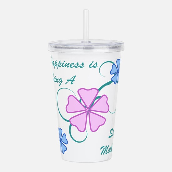 Happiness Stepmother Acrylic Double-wall Tumbler