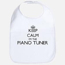 Keep calm I'm the Piano Tuner Bib
