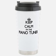 Keep calm I'm the Piano Travel Mug