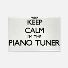 Keep calm I'm the Piano Tuner Magnets