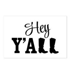 Hey Y'all Postcards (Package of 8)