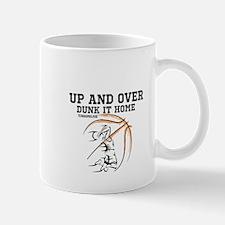 Up and Over BasketBall Mug