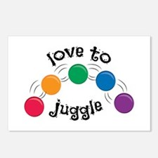 Love To Juggle Postcards (Package of 8)