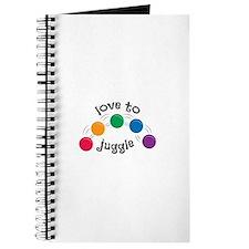 Love To Juggle Journal
